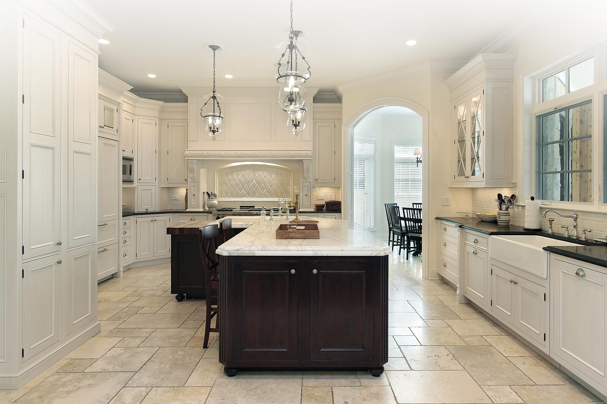 An Elegant Kitchen With Functionality